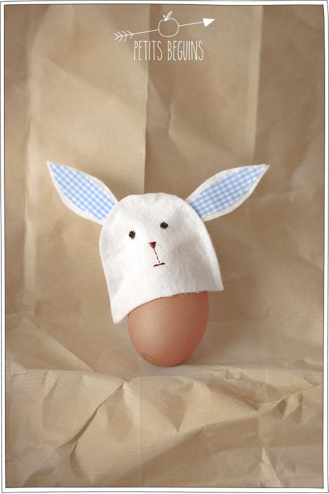 Bonnet d'oeuf - Pâques - Petits Béguins