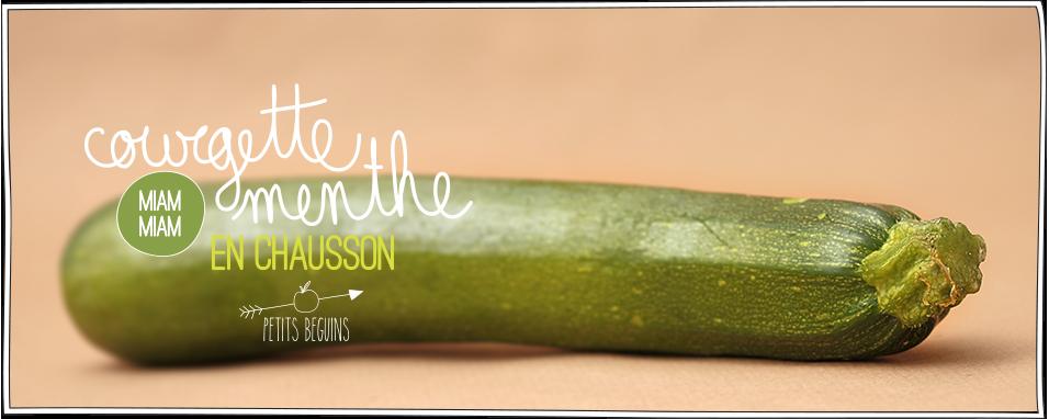 Courgette Menthe en Chausson - Petits Béguins