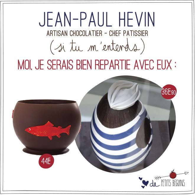 Jean-Paul Hevin - Vitrine Pâques Chocolat - Petits Béguins