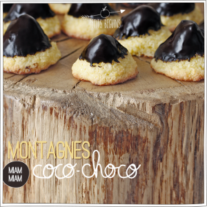Montagne Coco - Choco - Gourmandise - Battle food #19 - Petits Béguins