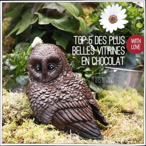 Vitrine Pâques Chocolat - Petits Béguins