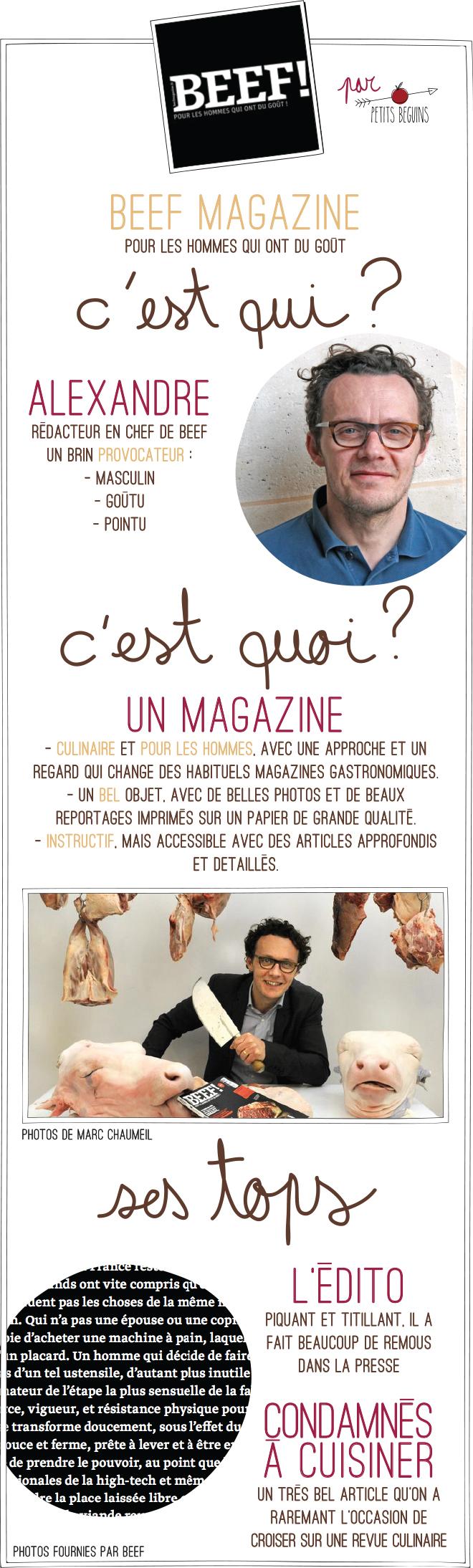 Beef Magazine - Cadeaux fête des pères - Petits Béguins