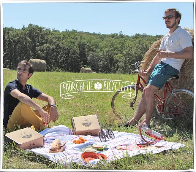 Fourchette et Bicyclette - Cadeaux fête des pères - Petits Béguins