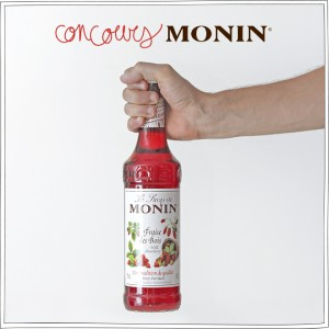 Concours – Monin – Sirop à l'eau – Petits Béguins