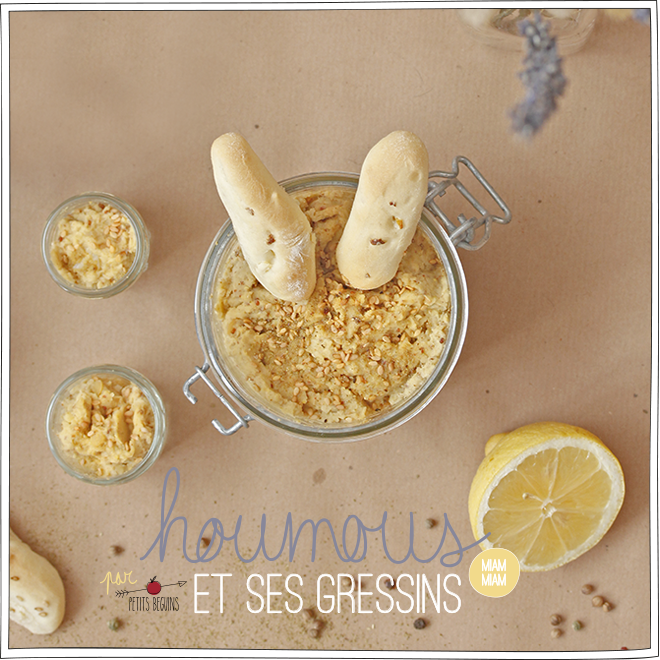 Houmous - Battle Food - Petits Béguins