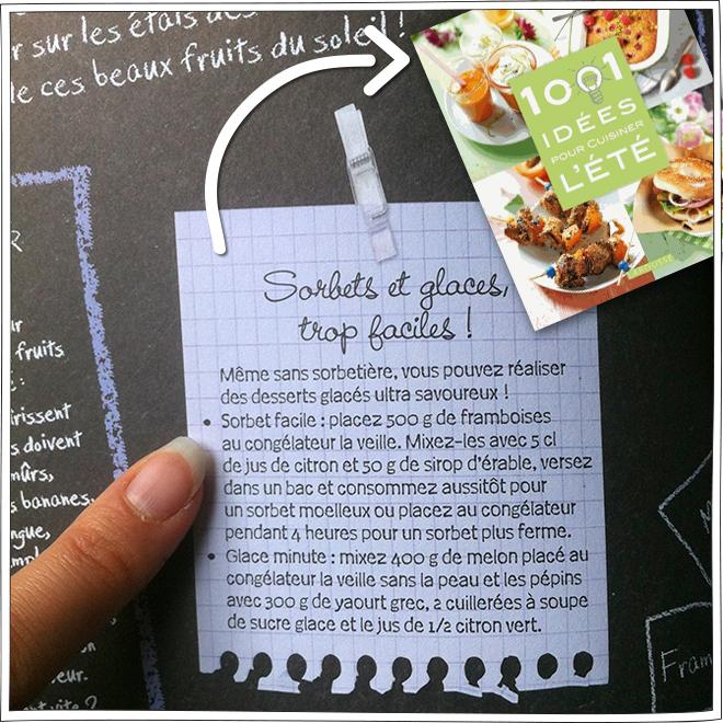 Sorbet Framboise – Recette – Petits Béguins