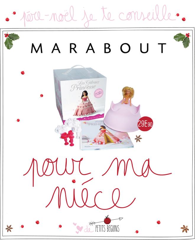 Cadeaux de Noël pour sa nièce - Marabout - Petits Béguins
