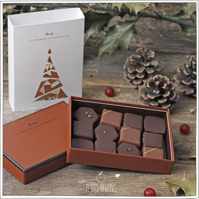 Chocolats de Noël - La Maison du Chocolat - Petits Béguins