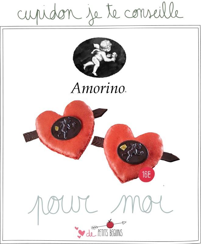 Amorino - Petits Béguins - Idées cadeaux Saint Valentin