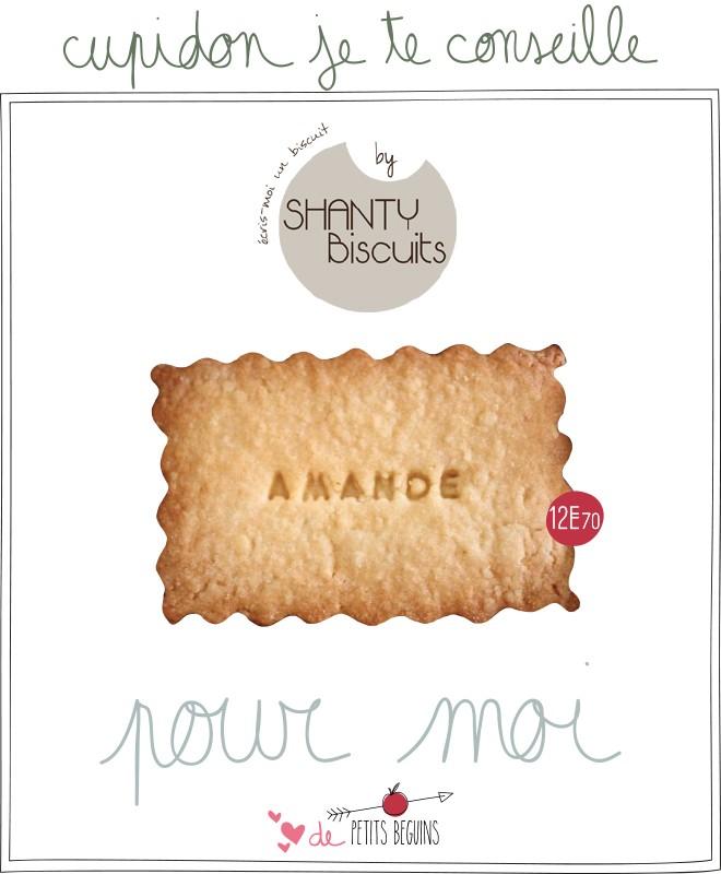 Shanty biscuits - Petits Béguins - Idées cadeaux Saint Valentin