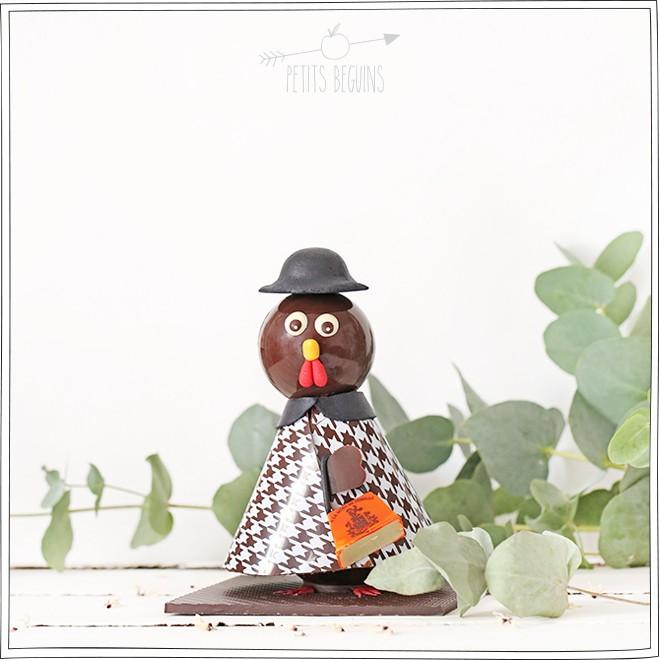 À la mère de famille - Pâques 2015 - Poule pied d'poule - Petits Béguins