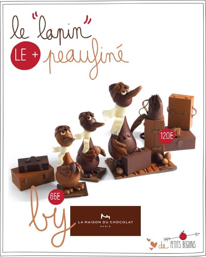 La Maison du chocolat - Pâques 2015 - Escale Pascale - Petits Béguins