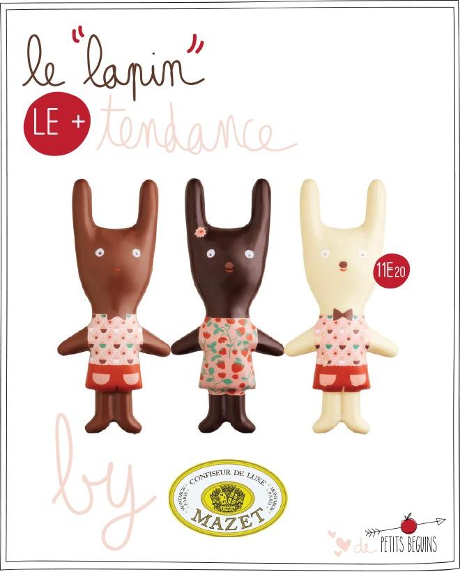 Mazet - Pâques 2015 - Liberty - Petits Béguins
