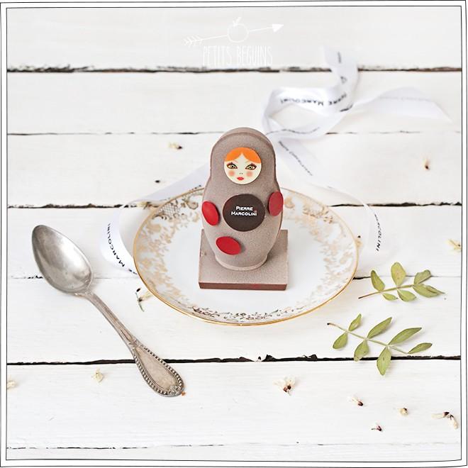 Pierre Marcolini - Pâques 2015 - Poupée baby doll - Petits Béguins