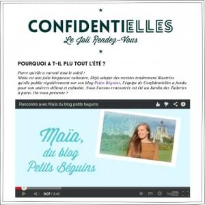 Confidentielles - Article - Petits Béguins