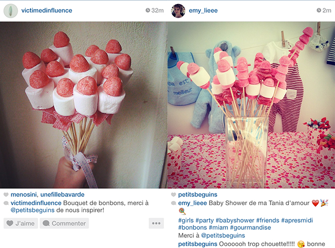 Bouquets de Bonbons - Reproductions - Petits Béguins