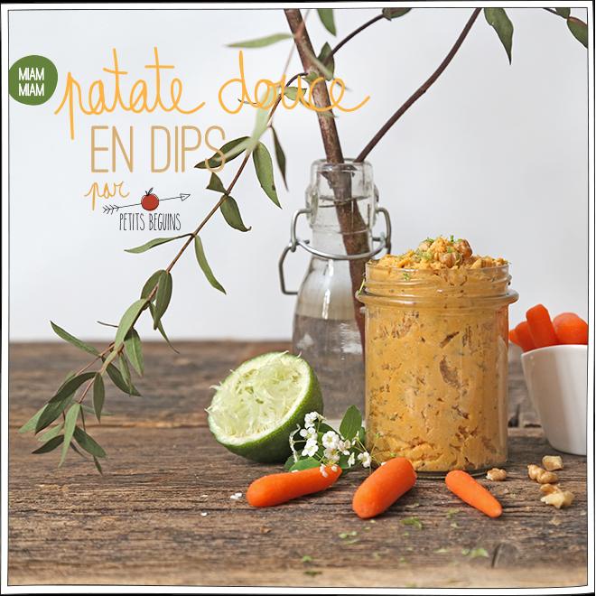 Dips Patate Douce - Recette - Petits Béguins