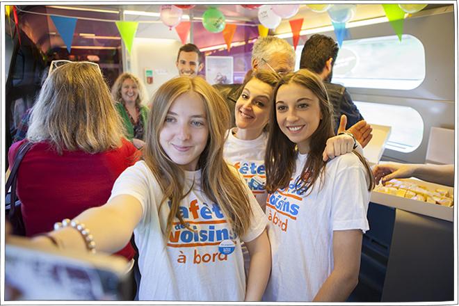 SNCF & Voisins solidaires pour Voisins à bord - Petits Béguins