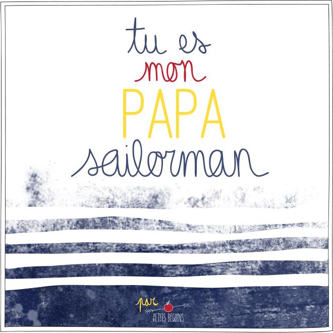Fête des Pères - Illustration - Petits Béguins