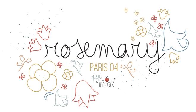 Rosemary - Restaurant Paris 04 - Petits Béguins