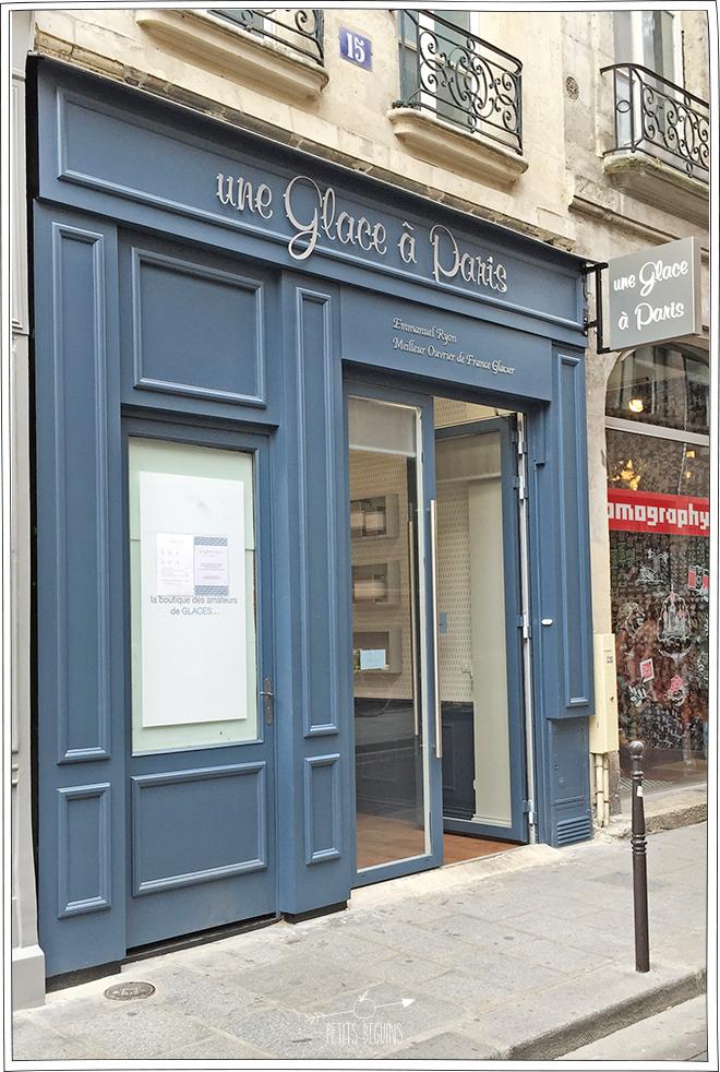 Une Glace à Paris - Paris 04 - Petits Béguins