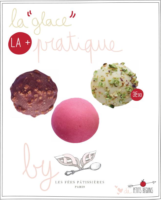 Les fées Pâtissières - Glaces Paris - Petits Béguins