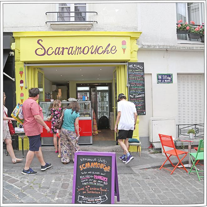 Scaramouche - Glaces Paris - Petits Béguins