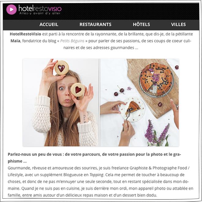 HotelRestoVisio - Interview - Petits Béguins
