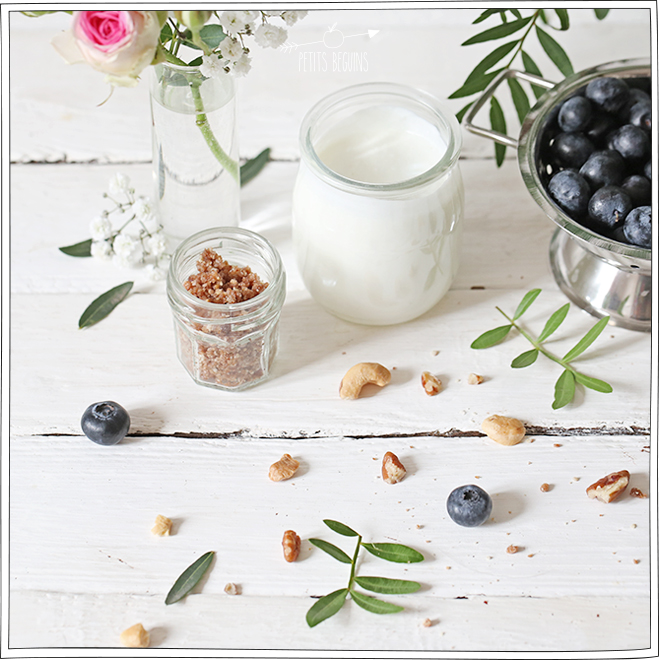 Tarte crue aux myrtilles - Gourmandise - Recette - Petits Béguins