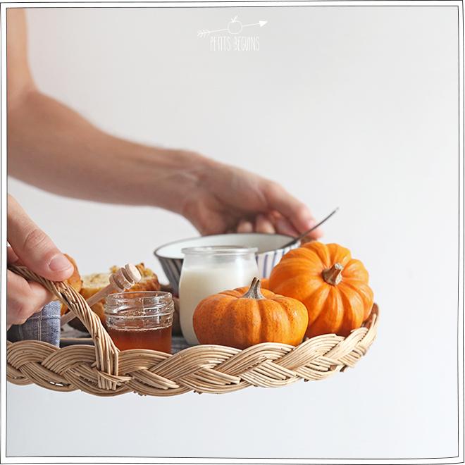 Brioche au Potimarron - Sans Lactose - Gourmandise - Petits Béguins