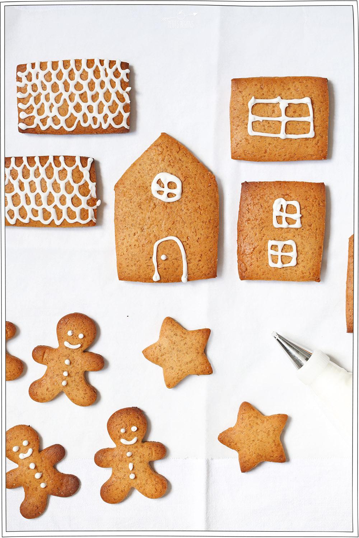 Maison en pain d'épice - Noël - Recette - Tuto vidéo - Petits Béguins