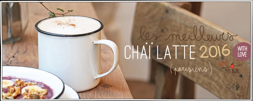 Meilleurs Chaï latte - Paris - Coups de coeur - Petits Béguins