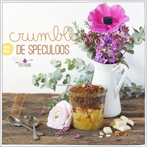 Crumble Speculoos - Recette - Gourmandise - Petits Béguins