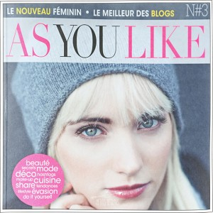 As You Like - Article Presse - Petits Béguins