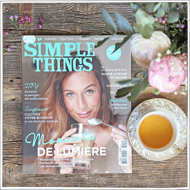 Simple Things - Article Presse - Petits Béguins
