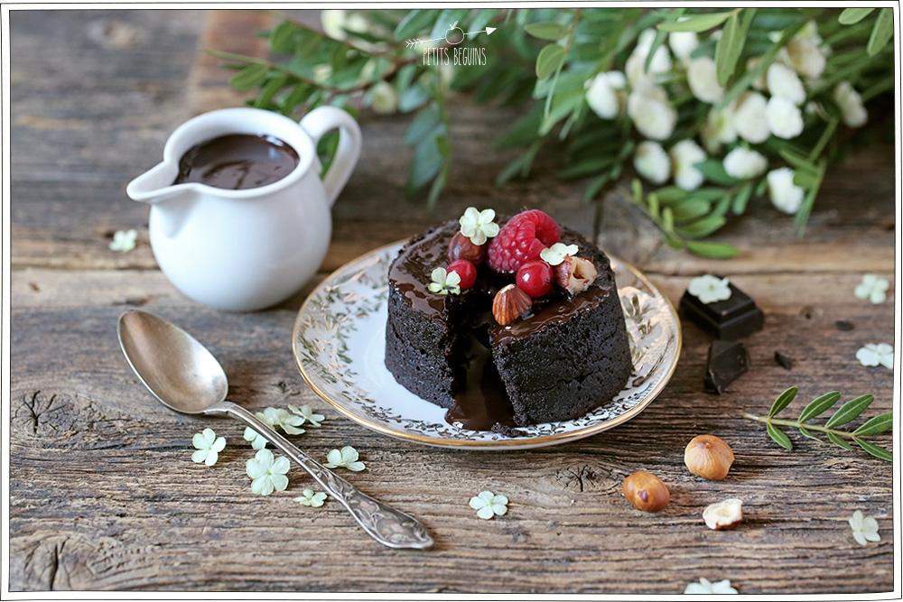 Fondant Chocolat Noisette - Sans gluten, sans lactose - Petits Béguins