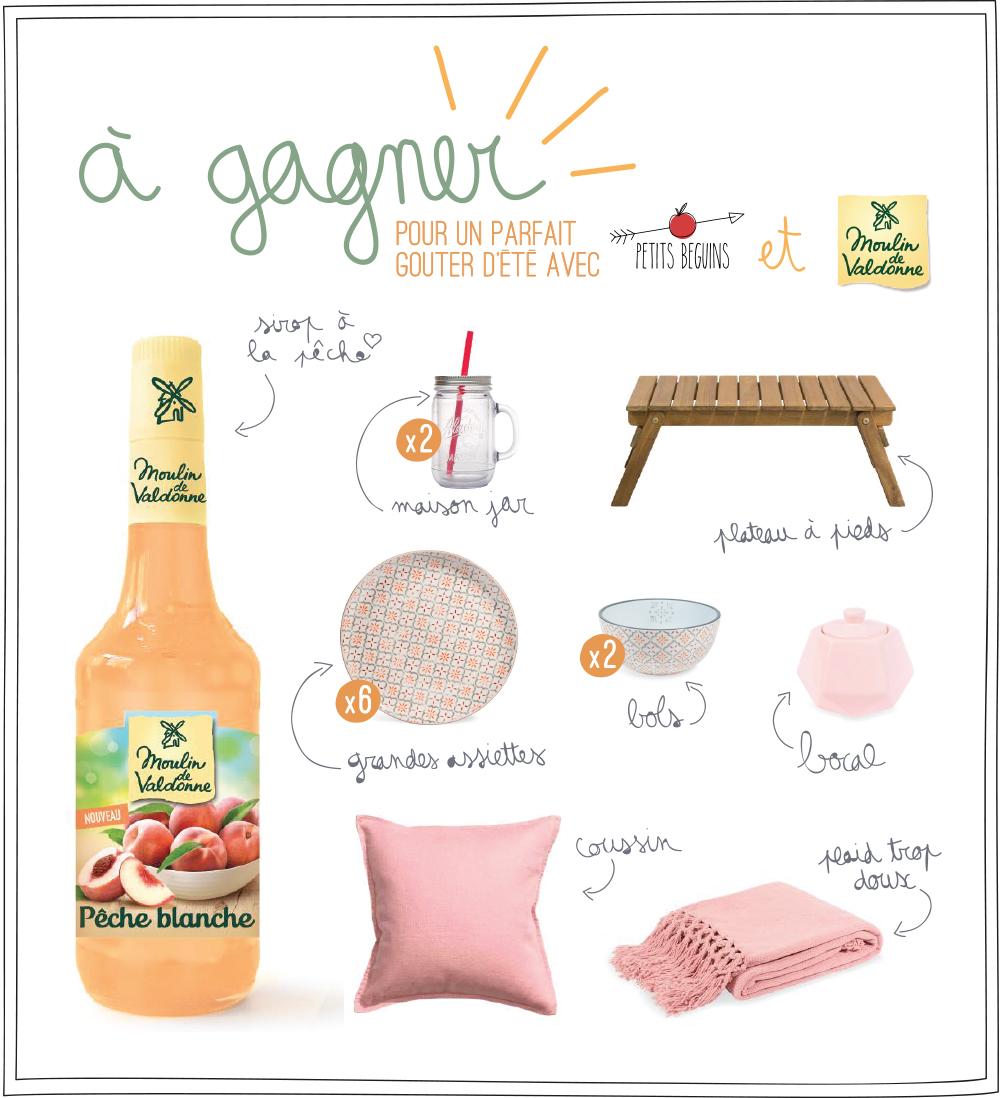 Gaufre Vegan au sirop de pêche - Gourmandise - Goûter - Petits Béguins