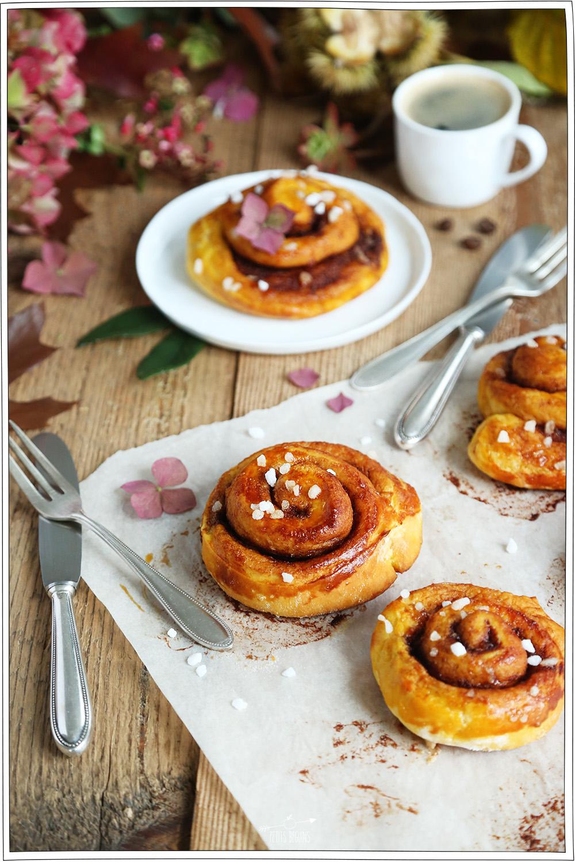 Cinnamon Roll au Potimarron - Recette Sans Lactose - Petits Béguins