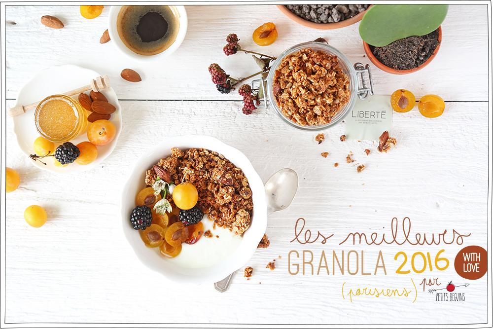 Meilleur granola de Paris - Bonnes Adresses - Petits Béguins - Coup de coeur