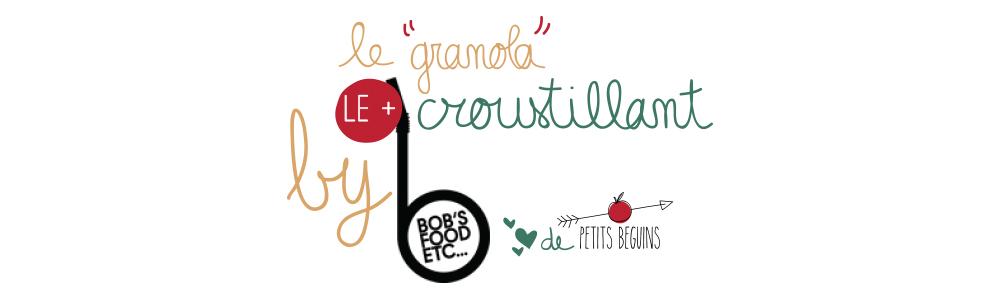 Meilleur granola de Paris - Bob's juice - Bonnes Adresses - Petits Béguins - Coup de coeur