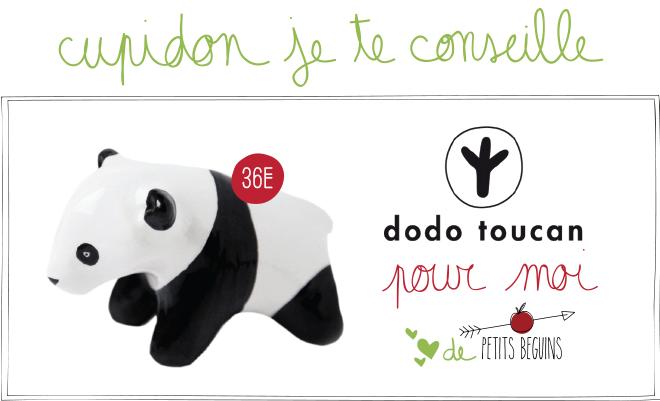 Idées cadeaux Saint-Valentin - Coup de coeur - Dodo Toucan - Petits Béguins