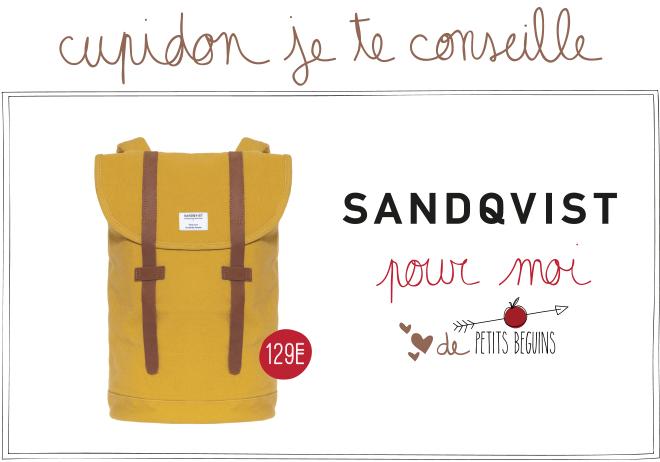 Idées cadeaux Saint-Valentin - Coup de coeur - Sandqvist - Petits Béguins