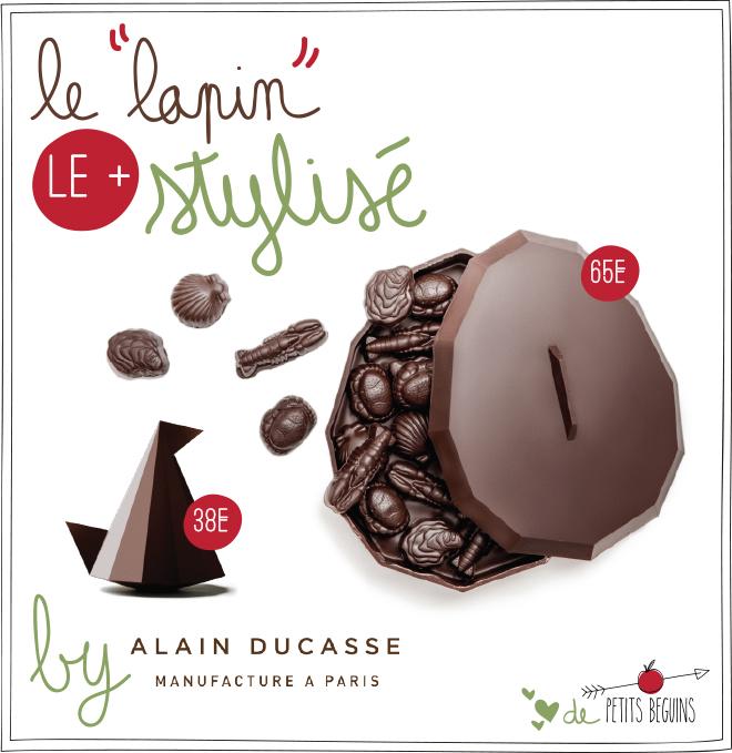 Pâques 2017 - Alain Ducasse - Coup de coeur - Petits Béguins