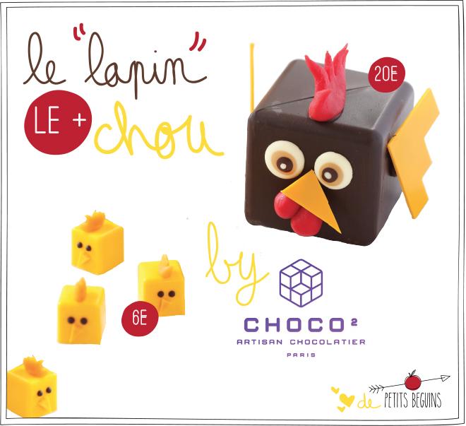 Pâques 2017 - Choco au carré - Coup de coeur - Petits Béguins
