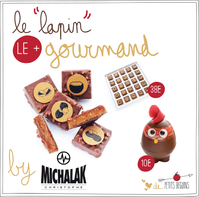 Pâques 2017 - Michalak - Coup de coeur - Petits Béguins