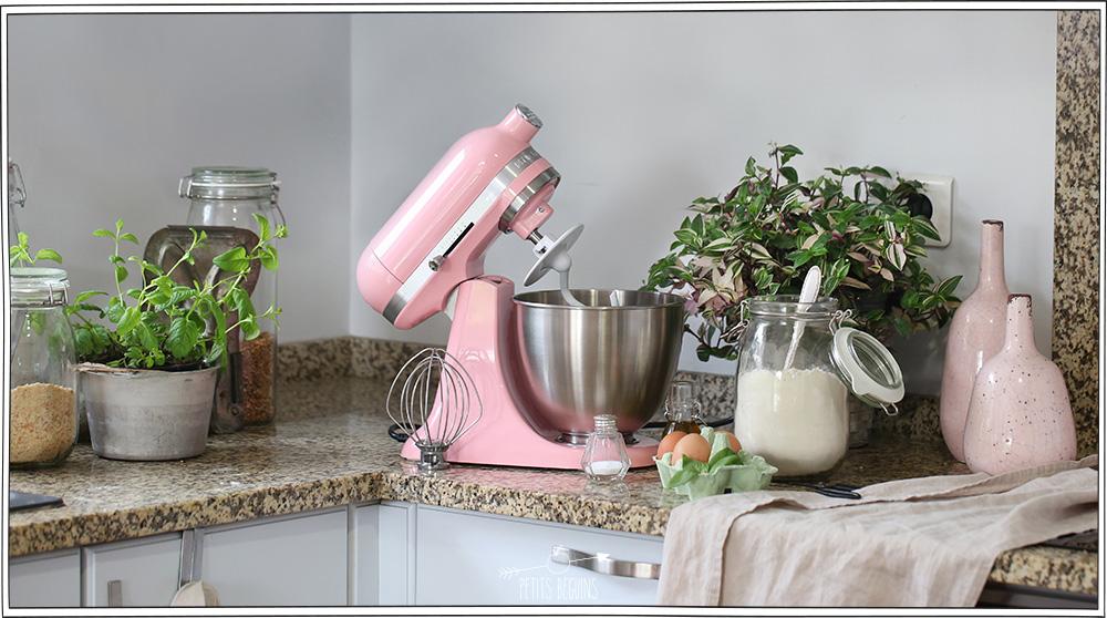 Pâtes maison - Recette facile - Pâte rose - KitchenAid - Petits Béguins