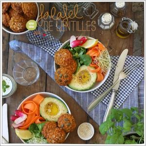 Falafel de Lentilles - Recette Veggie - Petits Béguins