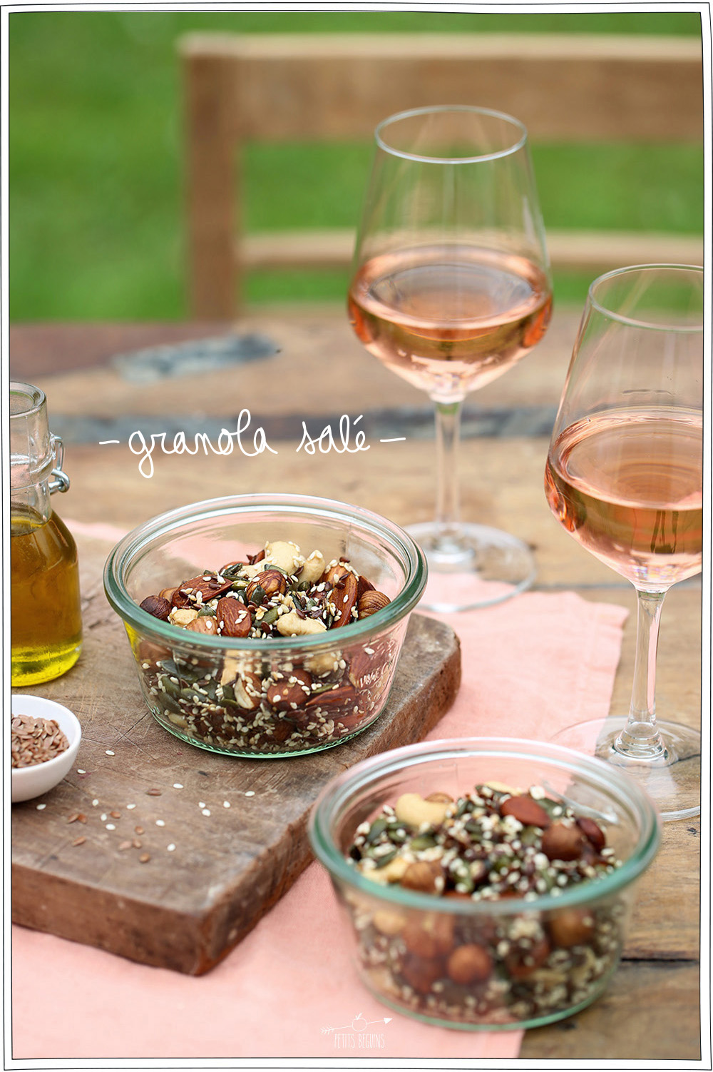 9 recettes pour l'apéro - Vins de Bordeaux / Petits Béguins