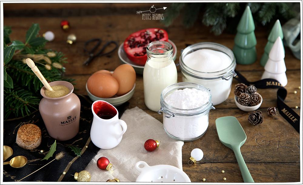Pavlova à la Moutarde - Dessert de Fêtes - Gourmandise - Petits Béguins