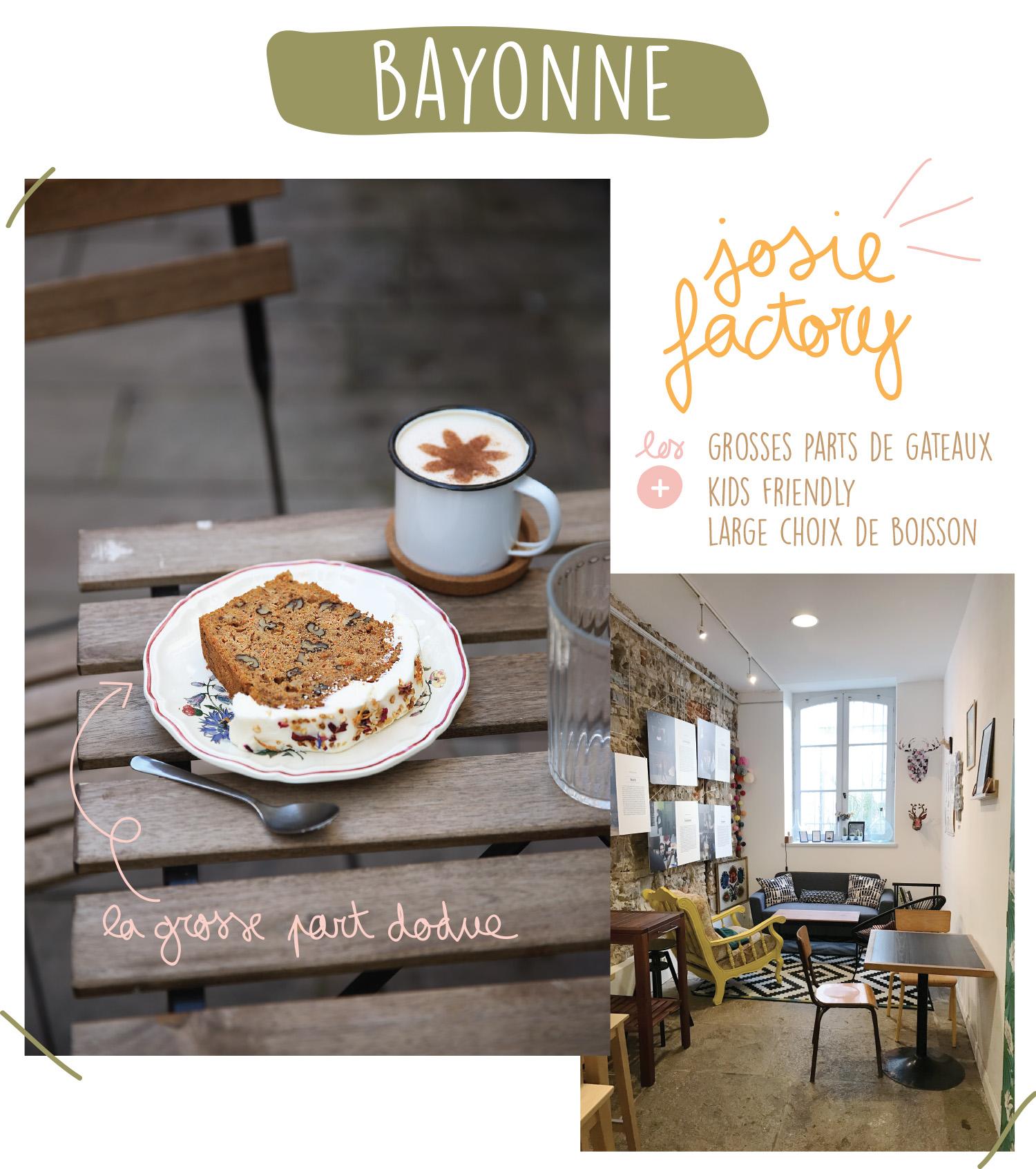 Bonne Adresse Bayonne - Josie Factory - Petits Béguins